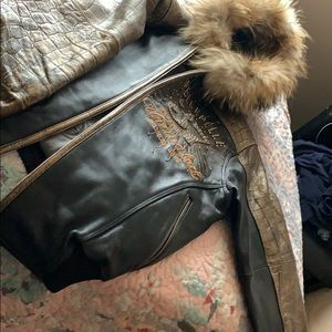 Pelle Pelle Jackets & Coats - PELLE PELLE UNISEX LEATHER JACKET